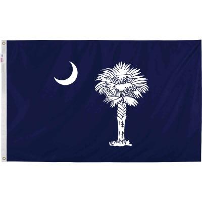 Valley Forge 3 Ft. x 5 Ft. Nylon South Carolina State Flag