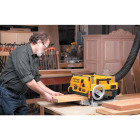 DeWalt 13 In. Three Knife Two-Speed Portable Planer Image 4