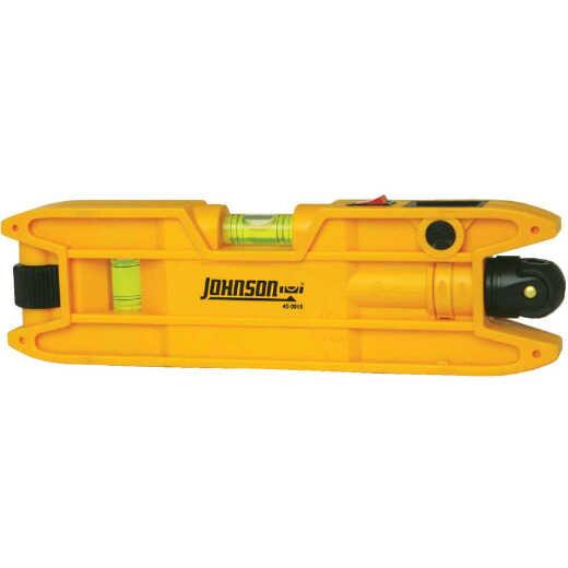 Johnson Level 100 Ft. Manual-Leveling Magnetic Torpedo Laser Level