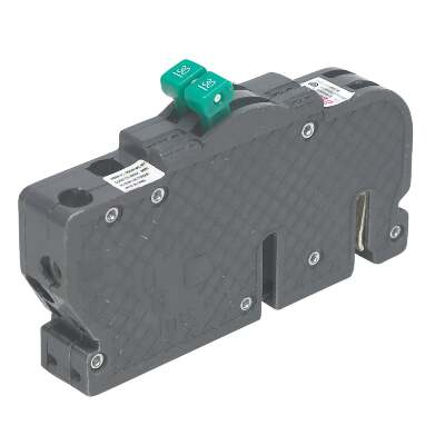 Connecticut Electric 50A/50A Twin Single-Pole Standard Trip Packaged Replacement Circuit Breaker For Zinsco