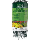 Best Garden 14 In. H x 20 Ft. L Galvanized Wire Decorative Border Fence Image 2