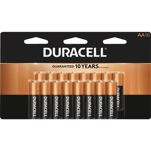 Duracell CopperTop AA Alkaline Battery (16-Pack)